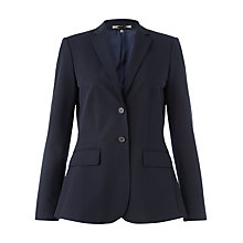 Buy Jigsaw Spring Gabardine Jacket, Navy Online at johnlewis.com