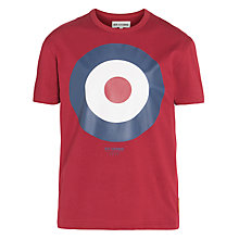 Buy Ben Sherman Boys' Target T-Shirt, Red Online at johnlewis.com