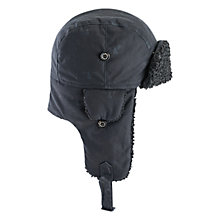 Buy Barbour Boy's Trapper Hat, Navy Online at johnlewis.com