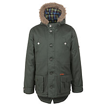 Buy Ben Sherman Boys' Hooded Parka Coat Online at johnlewis.com