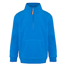 Buy John Lewis Boy Fleece, Blue Online at johnlewis.com