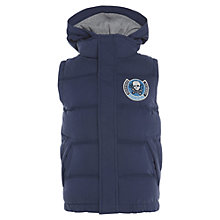Buy Animal Boys' Nolli Gilet, Navy Online at johnlewis.com
