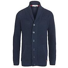 Buy Ben Sherman Boys' Shawl Neck Cable Knit Cardigan, Navy Online at johnlewis.com