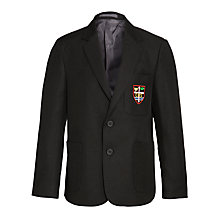 Buy Caterham High School Eco-Blazer, Black Online at johnlewis.com