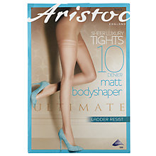 Buy Aristoc 10 Denier Body Toning Tights, Pack of 1, Black Online at johnlewis.com