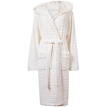 Buy Cyberjammies Helena Textured Robe, Cream Online at johnlewis.com