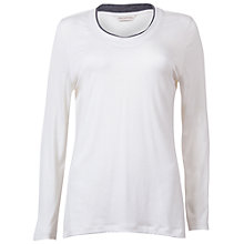 Buy Cyberjammies Long Sleeve Jersey Top, Cream Online at johnlewis.com