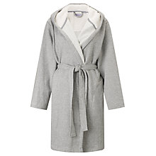 Buy John Lewis Sherpa Robe, Grey Marl Online at johnlewis.com