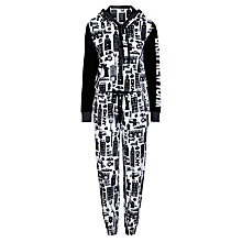 Buy DKNY New York City Print Long Sleeve Onesie, Multi Online at johnlewis.com