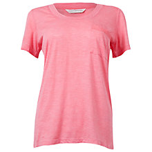 Buy Cyberjammies Helen Jersey Slub Tee, Coral Online at johnlewis.com