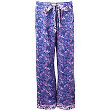 Buy Cyberjammies Betsy Floral Print Pyjama Pants, Purple Online at johnlewis.com