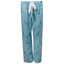 Buy Cyberjammies Meadow Dandelion Print Pyjama Pants, Aqua Online at johnlewis.com