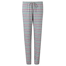 Buy John Lewis Multi Stripe Pyjama Pants, Grey / Multi Online at johnlewis.com