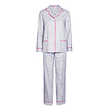 Buy DKNY Shine On Animal Print Long Sleeve Pyjama Set, Multi Online at johnlewis.com
