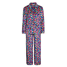 Buy DKNY Winter's Eve Hexagon Long Sleeve Pyjama Set, Multi Online at johnlewis.com