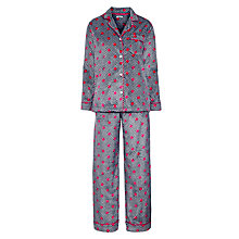 Buy DKNY Winter's Eve Herringbone Dot Pyjama Set, Multi Online at johnlewis.com