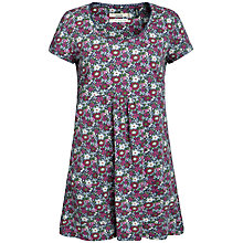 Buy Seasalt Boat Trip Floral Tunic Top, Collage Flower Anemone Online at johnlewis.com