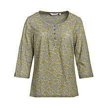 Buy Seasalt Pendower Cove Top, Smiling Skies Steel Online at johnlewis.com