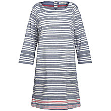 Buy Seasalt Folly Cove Tunic Dress, Squid Ink Online at johnlewis.com