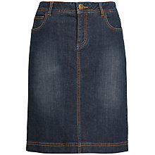 Buy Seasalt Eden Skirt, Midnight Wash Online at johnlewis.com