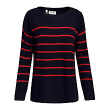 Buy Seasalt Capstan Jumper, Cookworthy/Squid Ink Online at johnlewis.com