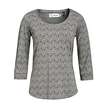 Buy Seasalt Cousin Ginny Dot Top, Steel Online at johnlewis.com