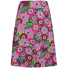 Buy Seasalt Reversible Skirt, Penwith Anemonies Squid Ink Online at johnlewis.com
