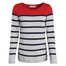 Buy Seasalt Botallack Jumper, Stern Silver Online at johnlewis.com