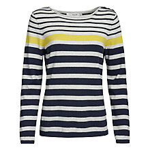 Buy Seasalt Shark's Fin Jumper, Sandhill Squid Ink Online at johnlewis.com