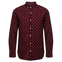 Buy JOHN LEWIS & Co. Geometric Diamond Print Shirt Online at johnlewis.com