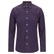 Buy JOHN LEWIS & Co. Slub Weave Long Sleeve Penny Collar Shirt Online at johnlewis.com