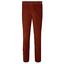 Buy JOHN LEWIS & Co. Bentley Needle Cord Trousers, Umber Online at johnlewis.com