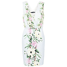 Buy French Connection Desert Tropicana Dress, Yellow/Multi Online at johnlewis.com