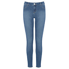 Buy Oasis Copenhagen Wash Jade Crop, Denim Online at johnlewis.com