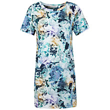 Buy Miss Selfridge Printed Cocoon Dress, Blue/Multi Online at johnlewis.com