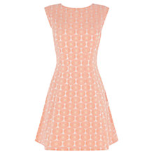 Buy Oasis Daisy Jacquard Dress, Multi Online at johnlewis.com