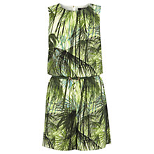 Buy Oasis Palm Print Playsuit, Multi Online at johnlewis.com