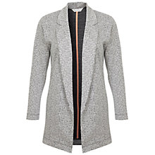Buy Miss Selfridge Longline Duster Jacket, Grey/Multi Online at johnlewis.com