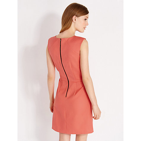 Buy Oasis Jane Shift Dress, Orange Online at johnlewis.com