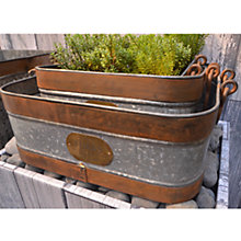 Buy Foras Bircham Vintage Planter Online at johnlewis.com