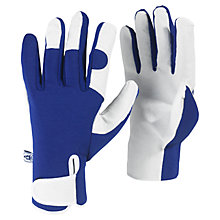 Buy Kew Gardens Gardening Gloves, Blue Online at johnlewis.com