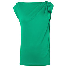 Buy L.K. Bennett Dunham Sleeveless Jersey Top, Parakeet Online at johnlewis.com