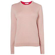 Buy L.K. Bennett Lora Knit Top, Barley Online at johnlewis.com