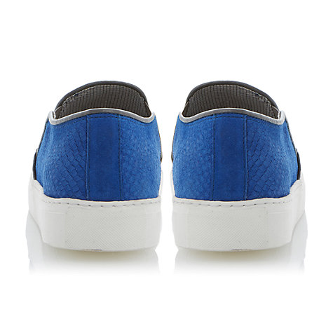 Buy Dune Tamagotchi Slip On Shoes, Blue Online at johnlewis.com