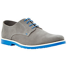 Buy Dune Bailey Suede Desert Shoes, Grey Online at johnlewis.com