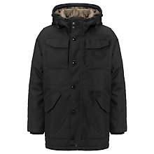 Buy G-Star Raw MFD Hooded Parka, Black Online at johnlewis.com