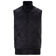 Buy G-Star Raw Fibvest Quilted Gilet, Mazarine Blue Online at johnlewis.com