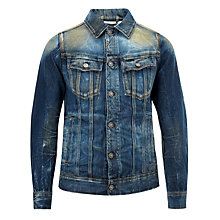 Buy G-Star Raw Tailor Slim 3D Jacket, Vintage Medium Aged Online at johnlewis.com