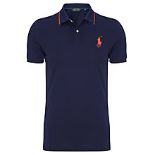 Buy Polo Golf by Ralph Lauren Large Logo Pro Polo Shirt Online at johnlewis.com