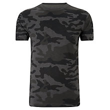 Buy G-Star Raw Ainsdock Short Sleeve T-Shirt, Grey Camo Online at johnlewis.com